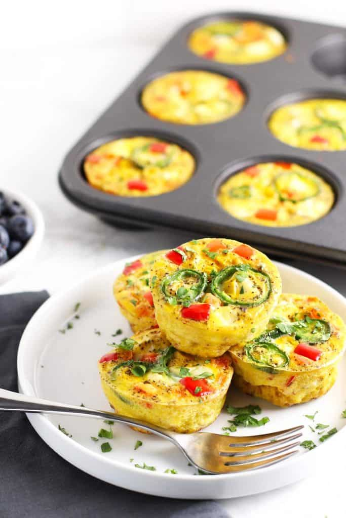 Healthy Southwest Egg Cups