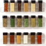 Mounted Spice Shelves