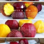 Instructions to cook beets without the mess.